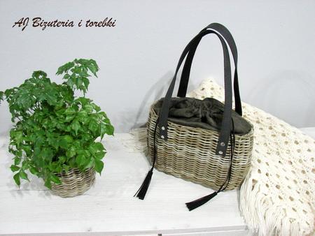 Torebka-koszyk oliwkowa (4)