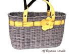 Koszyk brązowo-żółty (5)